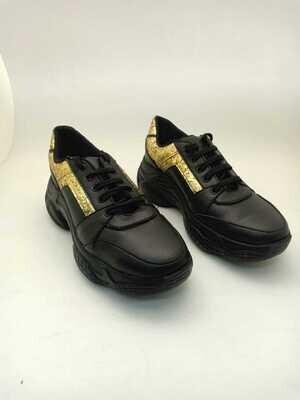 3758 Sneakers black*gold