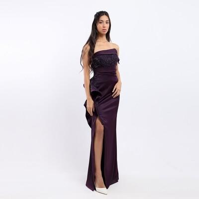 Dress Brugandy