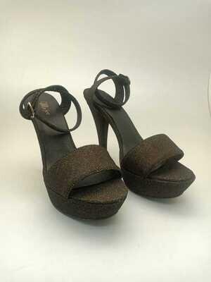 3776 sandal black*gold