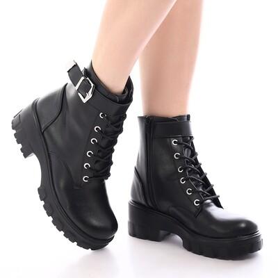 3910 Half Boot - Black