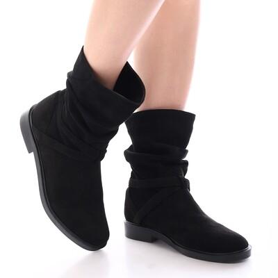 3922 Half Boot - Black SU