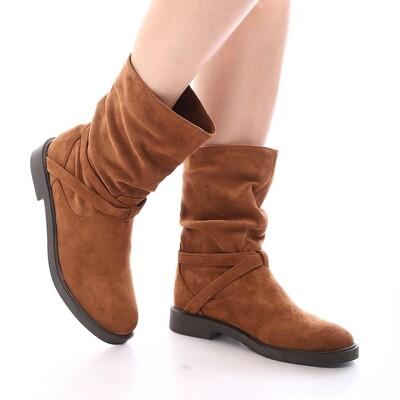 3922 Half Boot - Camel SU