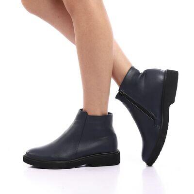 3825 Half Boot - NAVY