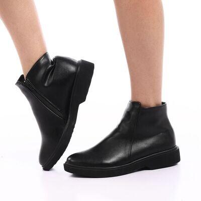 3825 Half Boot -Black