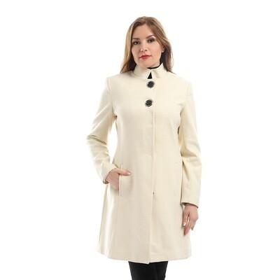 6792 Coat -White