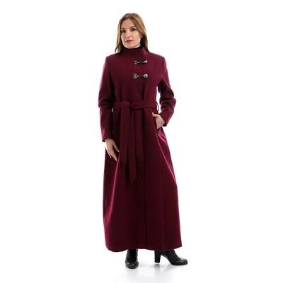 6799 Coat - Burgundy