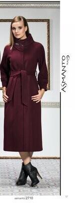 8207 Coat -  Burgundy