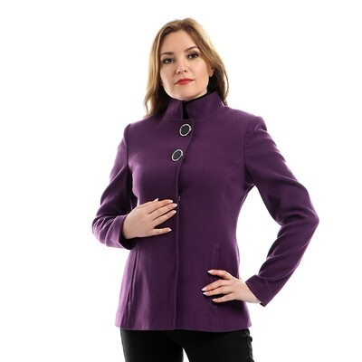 6790 Coat - Purple