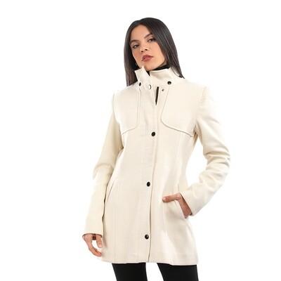 6789 Coat - Off White