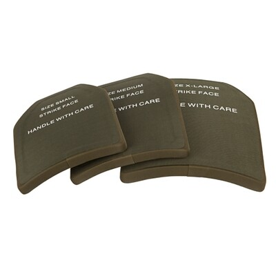 Skudsikker UHMWPE armor plate, III level (Medium)