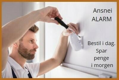 Installering - alarm