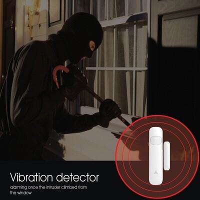 Vibrations-Vindues-Sensor