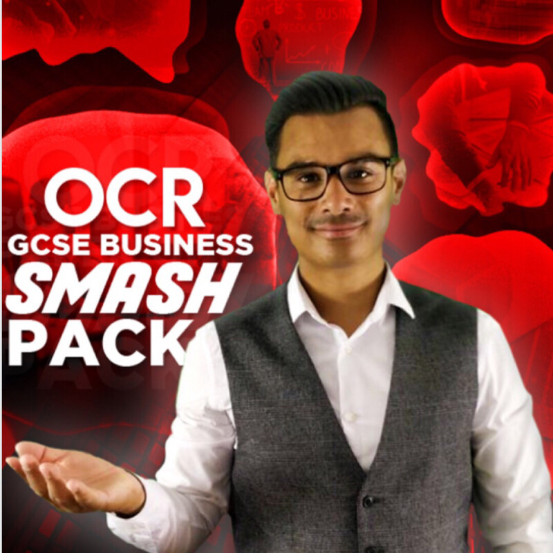 OCR GCSE BUSINESS ANALYSIS SMASH PACK