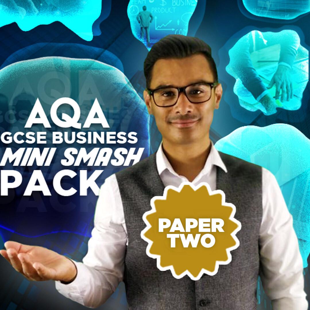 AQA GCSE PAPER TWO MINI SMASH PACK (e-book)