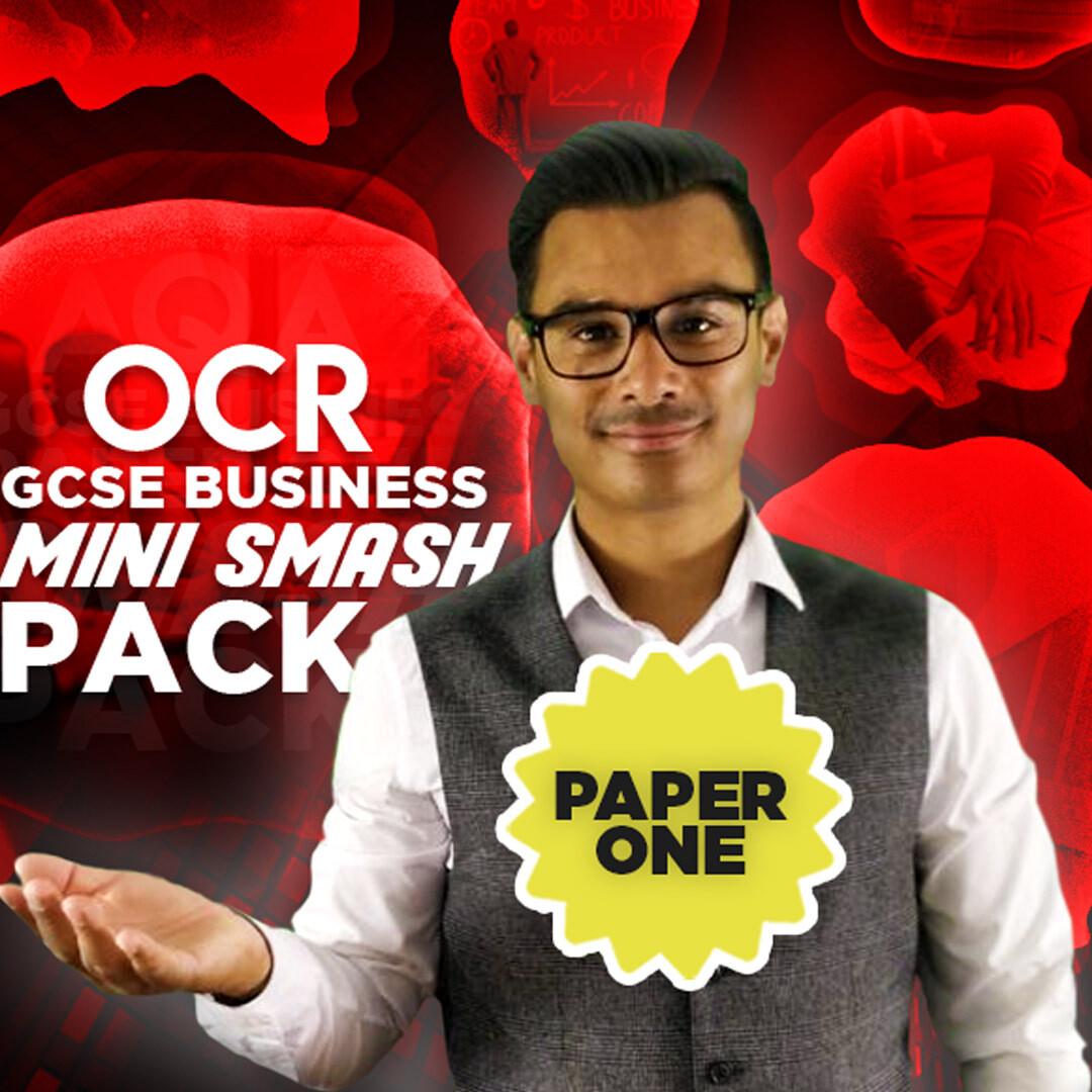 OCR GCSE PAPER ONE MINI SMASH PACK (e-book)