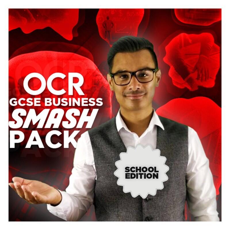 OCR GCSE ANALYSIS SMASH PACK (30 copies)