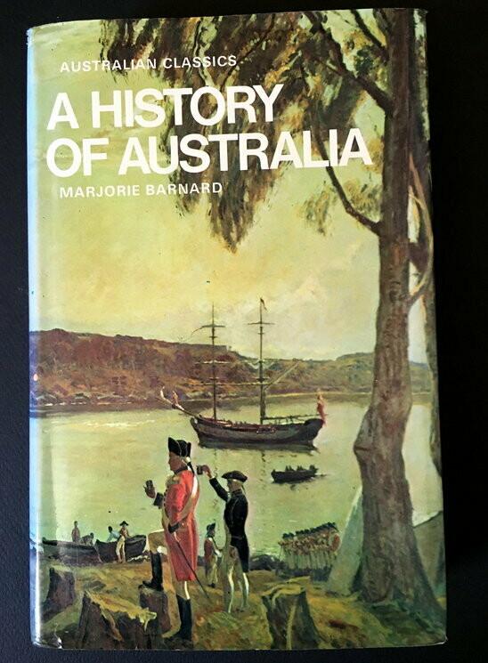 History of Australia by Marjorie Barnard