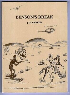 Benson's Break by J A Genoni