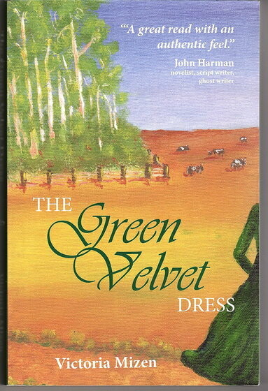 The Green Velvet Dress by Victoria Mizen