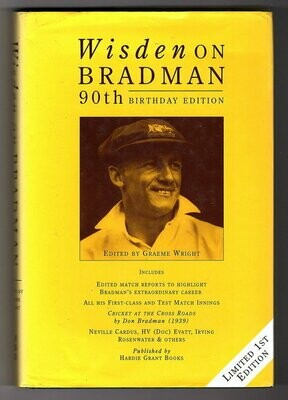 Wisden on Bradman: 90th Birthday Edition by Graeme Wright