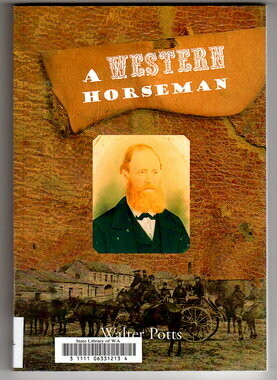 A Western Horseman by Walter Potts