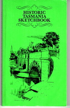 Historic Tasmania Sketchbook by Patsy Adam Smith and Joan Woodberry