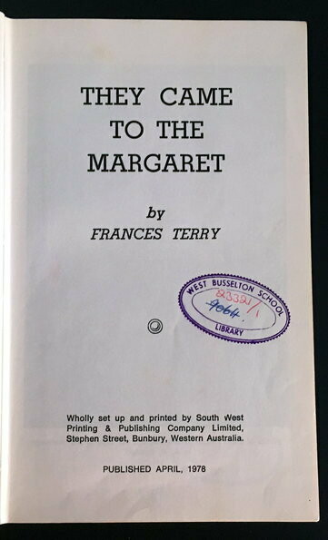 They Came to the Margaret by Frances Terry