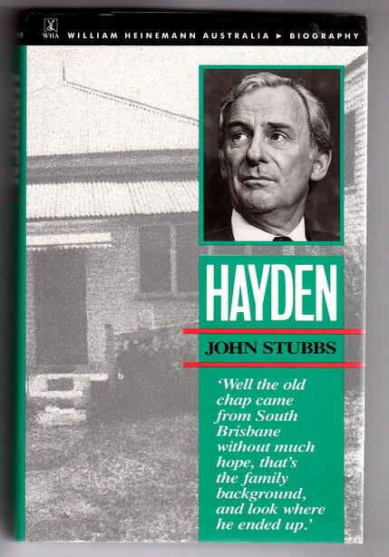 Hayden by John Stubbs