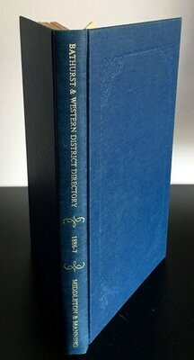 Bathurst and Western District Directory 1886-7 by Alex Middleton and Francis Mannning