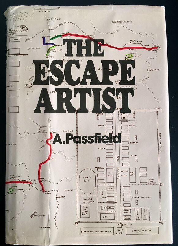 The Escape Artist by Alfred Passfield