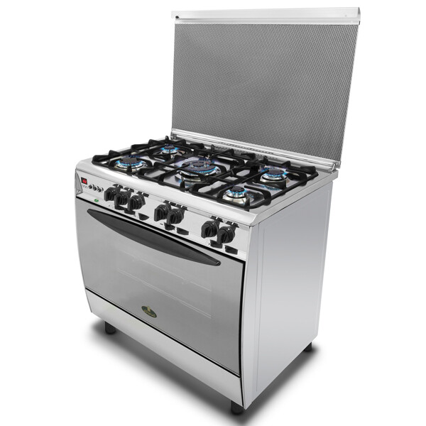 Kiriazi Oven 5 Burners - Stainless Steel -9601 King