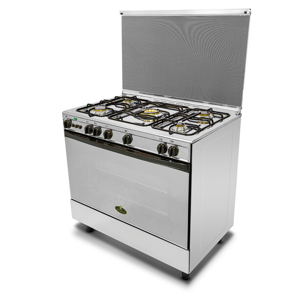 Kiriazi Oven 5 Burners  - 9700 - Stainless Steel