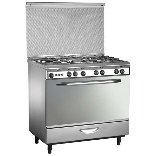 Kiriazi Oven 5 Burners  -9600 M - Stainless Steel