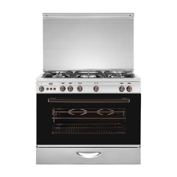 Kiriazi Oven 5 Burners 9600 S  - Cast فرن كريازي9600 -  5 شعلة - حوامل زهر