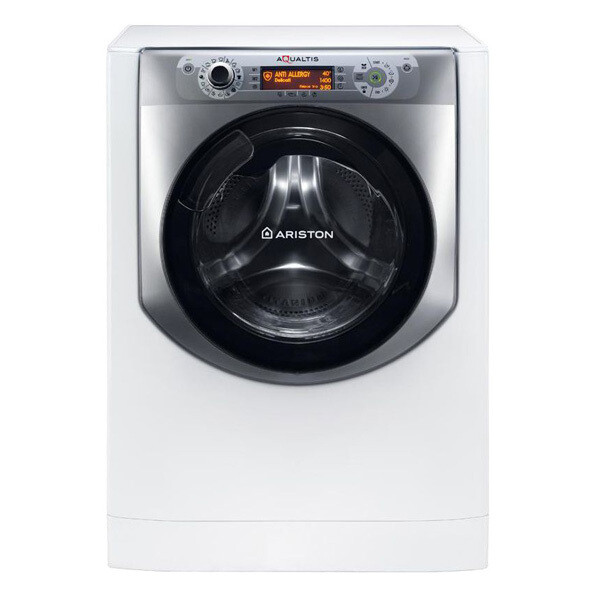 Ariston Front Loading Digital Washing Machine With Dryer, 10 KG, White - AQD1070D 497 EX