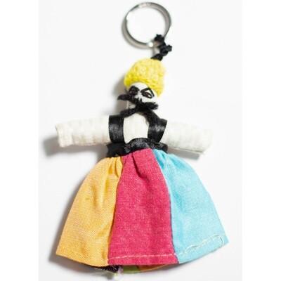 ميدالية مفاتيح تنورة- الوان