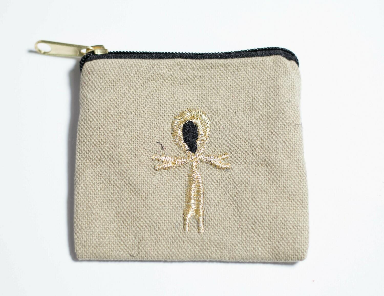 كيس عملة اشكال فرعونى بالدك - مفتاح النيل