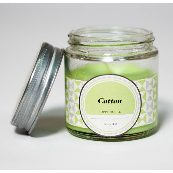 Cotton Happy Scented Candle