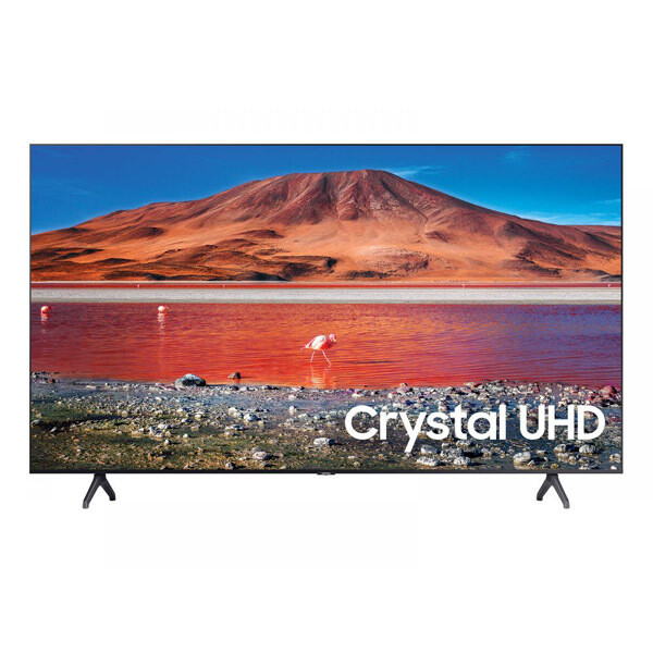 Samsung 43 Inch 4K Crystal Ultra HD Smart LED TV with Built-in Receiver - 43TU7000