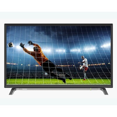 TOSHIBA LED TV 32 Inch HD With 2 HDMI and 1 USB Inputs 32L2600EA