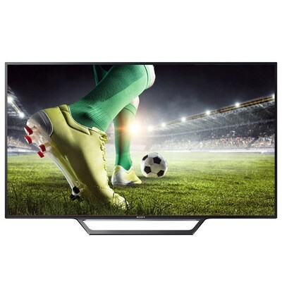 SONY Smart TV 32 Inch HD LED With Built in WiFi, 2 HDMI and 2 USB Inputs KDL-32W600D