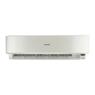 SHARP Split Air Conditioner 3HP Cool Premium Plus Digital With Plasmacluster In White Color AH-AP24UHE