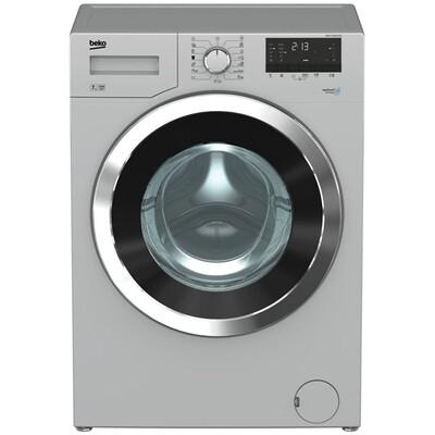 Beko Front Loading Digital Washing Machine, 7 KG, Silver - WMY71030SLB1 غسالة ملابس تحميل امامي ديجيتال بيكو، سعة 7 كيلو، فضي