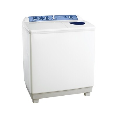 TOSHIBA Washing Machine Half Automatic 10 Kg In White Color with 2 Motors and Pump VH-1000P