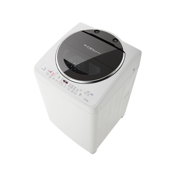 TOSHIBA Washing Machine Top Automatic 13 Kg With SDD Inverter Motor, White Color AEW-DC1300SUP