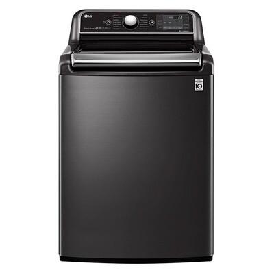 LG Top Loading Automatic Washing Machine, 24 KG, Black - T2472EFHST5