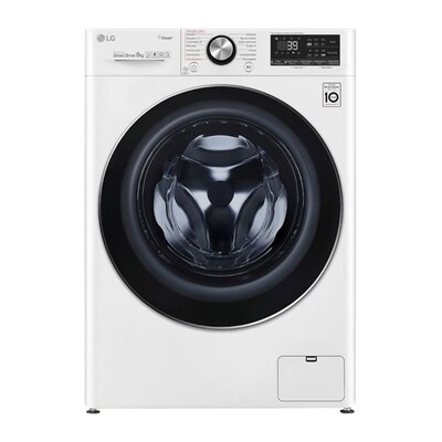LG Vivace Front Load Automatic Washing Machine, 8 KG, White- F4R5TYG0W