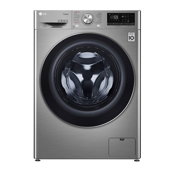 LG Vivace Front Load Automatic Washing Machine, 8 KG, Silver- F4R5TYG2T
