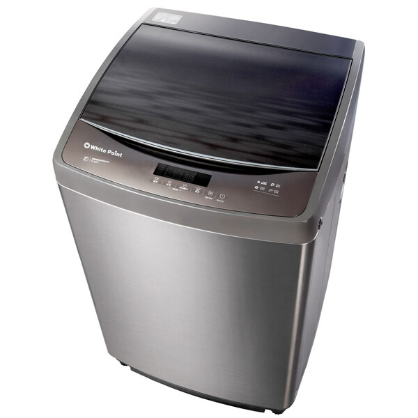White Point Free Standing Top Load Automatic Washing Machine, 12 KG, Grey-WPTL 12 DFGCMA