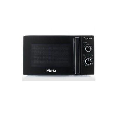 Mienta Caprice Microwave, 20 Liter, 700 Watt, Black - MW32417A